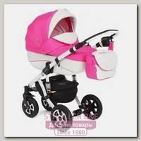 Детская коляска Adamex Gloria Eco 2 в 1, эко-кожа+ткань
