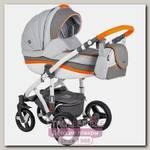 Детская коляска BeBe-Mobile Movo R 3 в 1, ткань+эко-кожа