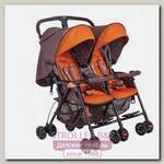 Детская прогулочная коляска для двойни Geoby SD593E