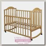 Детская кроватка Наполеон Луна колесо+качалка