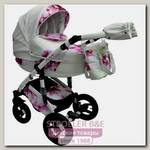 Детская коляска Aneco Futura Ecco 2 в 1, эко-кожа+ткань