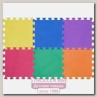 Игровой рельефный коврик-пазл Funkids 12' Сенс-12 KB-049-6-Sense, 6 плит