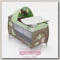Детский манеж CAM Daily Plus с пеленальным столиком