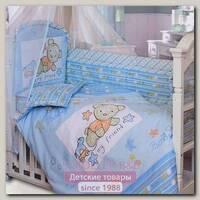 Комплект в кроватку Золотой Гусь Zoo Bear 7 предметов 70х140 см