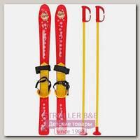 Детские лыжи RT Т3350 с палками и креплениями