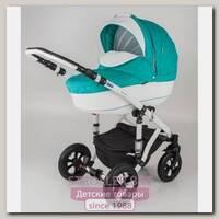 Детская коляска Adamex Galactic Eco 2 в 1, 50% эко-кожа