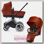 Детская коляска Cybex Priam Lux 2 в 1, шасси All Terrain Chrome
