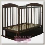 Детская кроватка СКВ 11200 поперечный маятник+ящик
