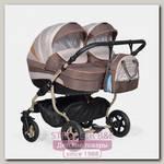 Детская коляска для двойни Indigo Duo 18 2 в 1