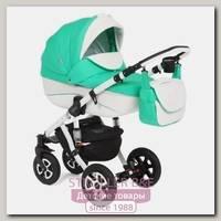 Детская коляска Adamex Gloria Eco 3 в 1, эко-кожа