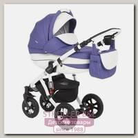 Детская коляска Adamex Avila Eco 3 в 1, ткань+эко-кожа