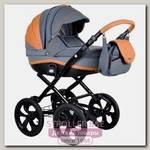 Детская коляска BeBe-Mobile Ines A 2 в 1, ткань+эко-кожа