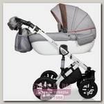 Детская коляска Verdi Eclipse 3 в 1, ткань+эко-кожа