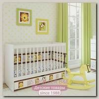 Кроватка для новорожденных Shapito by Giovanni, 120 x 60 см, ящик