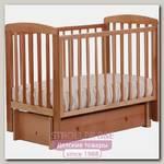 Детская кроватка Кубаньлесстрой Ромашка АБ 16.3 продольный маятник