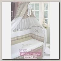 Комплект постели в кроватку L'abeille Bellissimo, 7 предметов