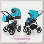 Детская коляска Esspero Newborn Lux 2016 2 в 1, шасси Chrome