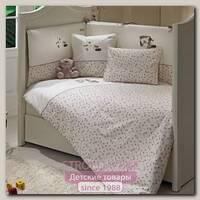 Сменный комплект белья Fiorellino My Bear в кроватку, 3 предмета