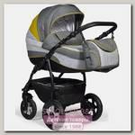 Детская коляска Indigo 18 Special 2 в 1, ткань + эко-кожа