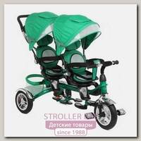 Трехколесный велосипед для двойни Capella Twin Trike