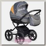 Детская коляска Indigo 18 Special Plus 14 2 в 1, ткань+эко-кожа