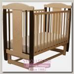 Детская кроватка Соня 04 Мишка, поперечный маятник, без ящика