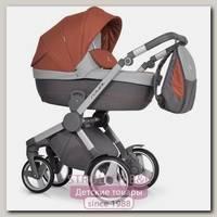 Детская коляска Caretto Royal 2 в 1, ткань+эко-кожа
