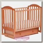 Детская кроватка Кубаньлесстрой Лилия АБ 17.2 поперечный маятник