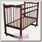 Детская кроватка Н. Новгород Мишутка 14, колесо + качалка, без ящика