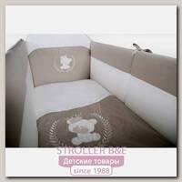Комплект постели в кроватку Nastella Bear Prince, 6 предметов