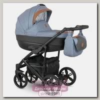 Детская коляска Camarelo Baleo 2 в 1, ткань+эко-кожа