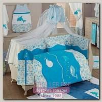 Комплект постельного белья Kidboo Sea Life 6 предметов
