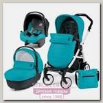 Детская коляска Peg-Perego Book Plus Completo 3 в 1, шасси White
