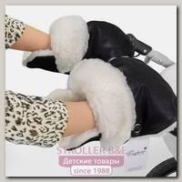 Меховая муфта-рукавички для коляски Esspero Karolina из 100 % натуральной шерсти