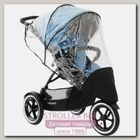 Комплект дождевик на основное сидение + задняя шторка для колясок Phil and Teds Navigator / Sport