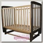 Детская кроватка Соня 04 Classic, поперечный маятник, без ящика