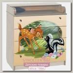 Пеленальный комод Disney КДП Бэмби 80 x 90