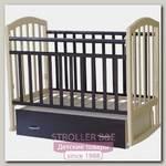 Детская кроватка Антел Алита 4 поперечный маятник+ящик