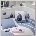 Бортик Funnababy Marine Фаннабэби Марин короткий для детской кровати 120 х 60 см