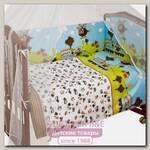 Комплект в кроватку Сонный гномик Каникулы (4 предмета)