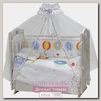 Комплект постели в кроватку Топотушки Вокруг Света, 7 предметов