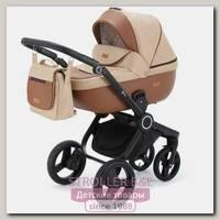 Детская коляска Adamex Elsa 3 в 1, ткань+эко-кожа