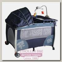 Детский манеж-кровать Pituso Flora (С капором)