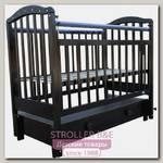 Детская кроватка Мой Малыш Ивашка 10, продольный маятник