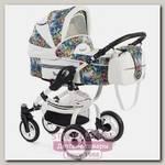 Детская коляска Reindeer City Lily 3 в 1, эко-кожа