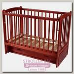 Детская кроватка Счастливый Малыш Кроха-2, продольный маятник