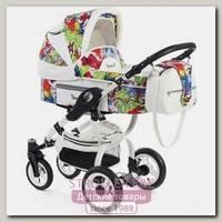 Детская коляска Reindeer City Lily 2 в 1, эко-кожа