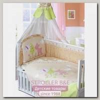 Комплект в кроватку Золотой Гусь Little Friend 7 предметов 70х140 см