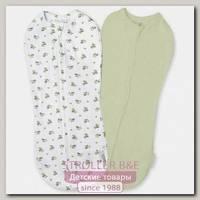 Конверт для пеленания новорожденных на молнии Summer Infant SwaddlePod 2 шт.