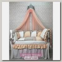 Комплект постели для прямоугольной кроватки Marele Янтарный 460258-пр, 18 предметов